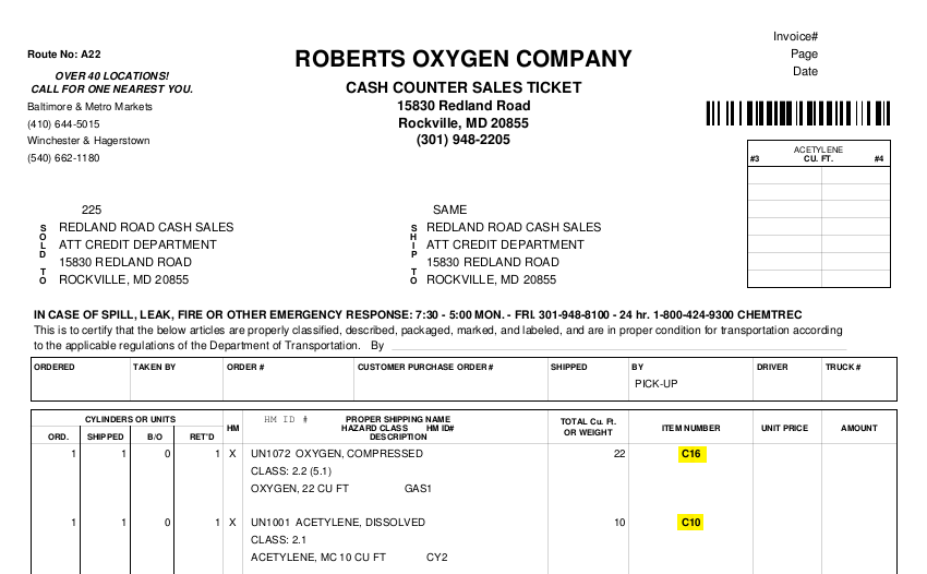 Safety Data Sheet Sds Library Roberts Oxygen